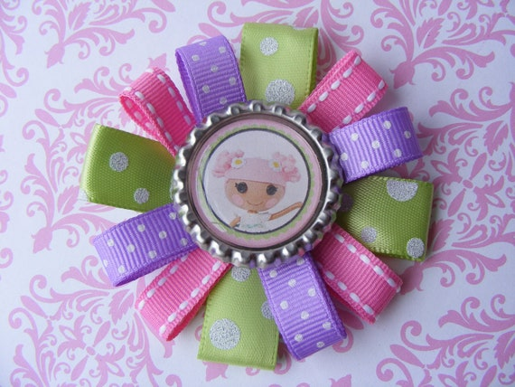 Lalaloopsy Bottlecap Hair Bow