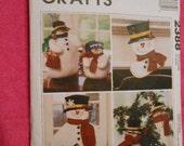 McCalls 2388, Holiday, Christmas, snowman