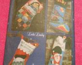 Butterick 6941, christmas, holiday, stockings