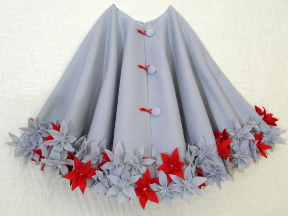 54 Christmas Tree Skirt In Silver Polyester Felt With A