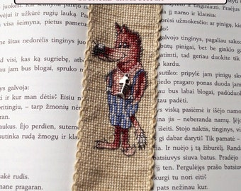 BOOKMARK VASIA counted cross stitch kit
