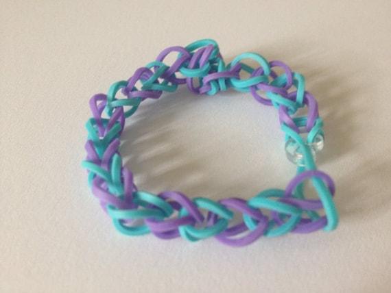 How To Make Rainbow Loom Triple Bracelet | newhairstylesformen2014.com