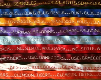College Spirit Ribbons, pick one or Design Your Own