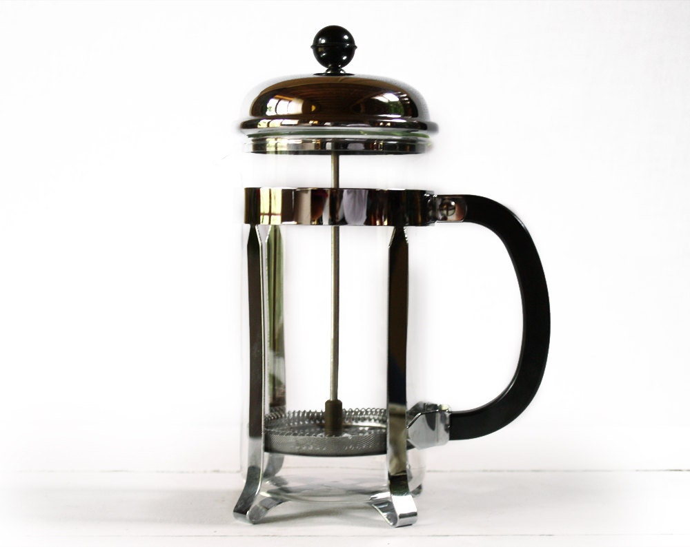 vintage french french press plunger coffee maker melior paris. Black Bedroom Furniture Sets. Home Design Ideas