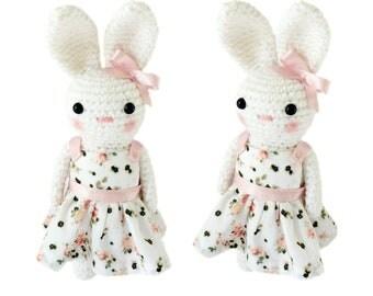 Crochet Bunny Rabbit - Amigurumi