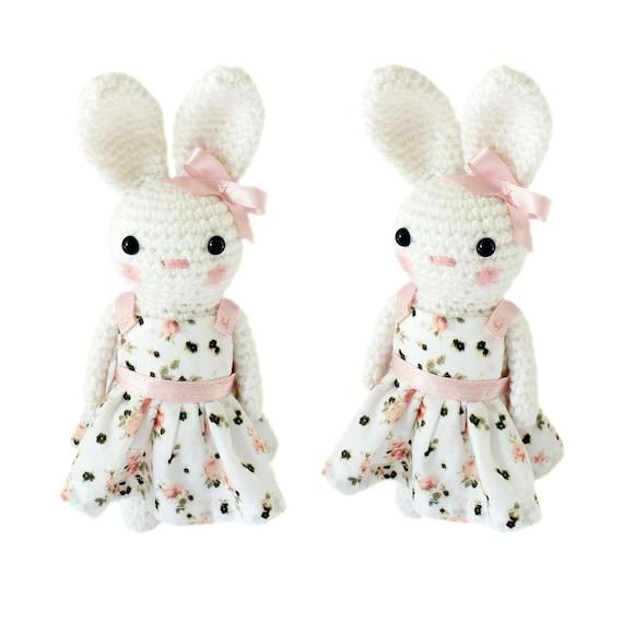 Etsy Amigurumi Bunny : Crochet Bunny Rabbit Amigurumi by TheCrochetCabin on Etsy