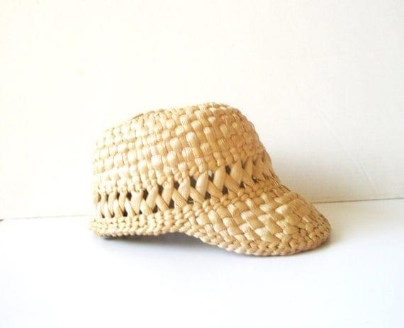 Summer Sun hat - Straw Hat Unisex Shady Old - baseball hat