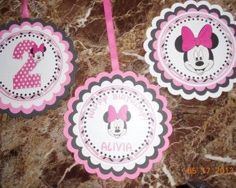 Minnie Mouse Decoration-Minnie Mouse Party Decoration-Minnie Mouse Birthday-Minnie Mouse Party-Minnie Mouse Hanging Decoration