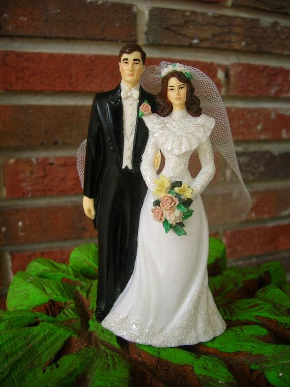 Vintage Wedding Cake Topper, Wilton