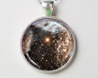 Galaxy Necklace - 30 Doradus in Infrared- Galaxy Series