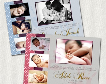 Birth Announcement: Boy or Girl