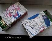 Sailor Moon's Chibiusa, matchbox magnet set