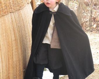 Boy's Fleece Cloak - Sizes 4, 5, 6.