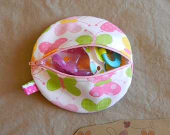 Paci Pod in Butterfly fabric READY TO SHIP!!