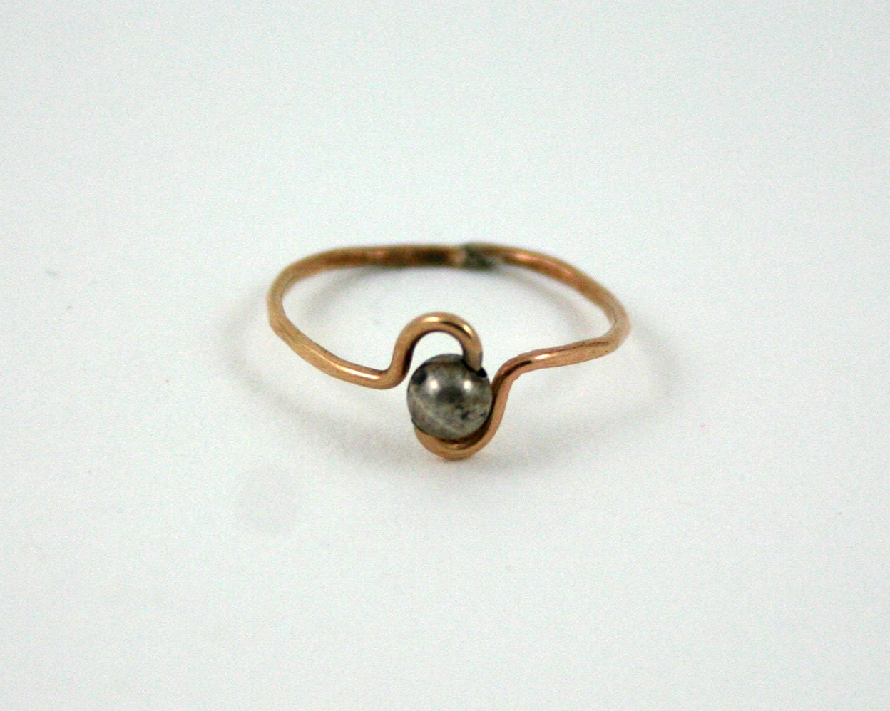 vintage gold wire ring vintage handmade jewelry ring