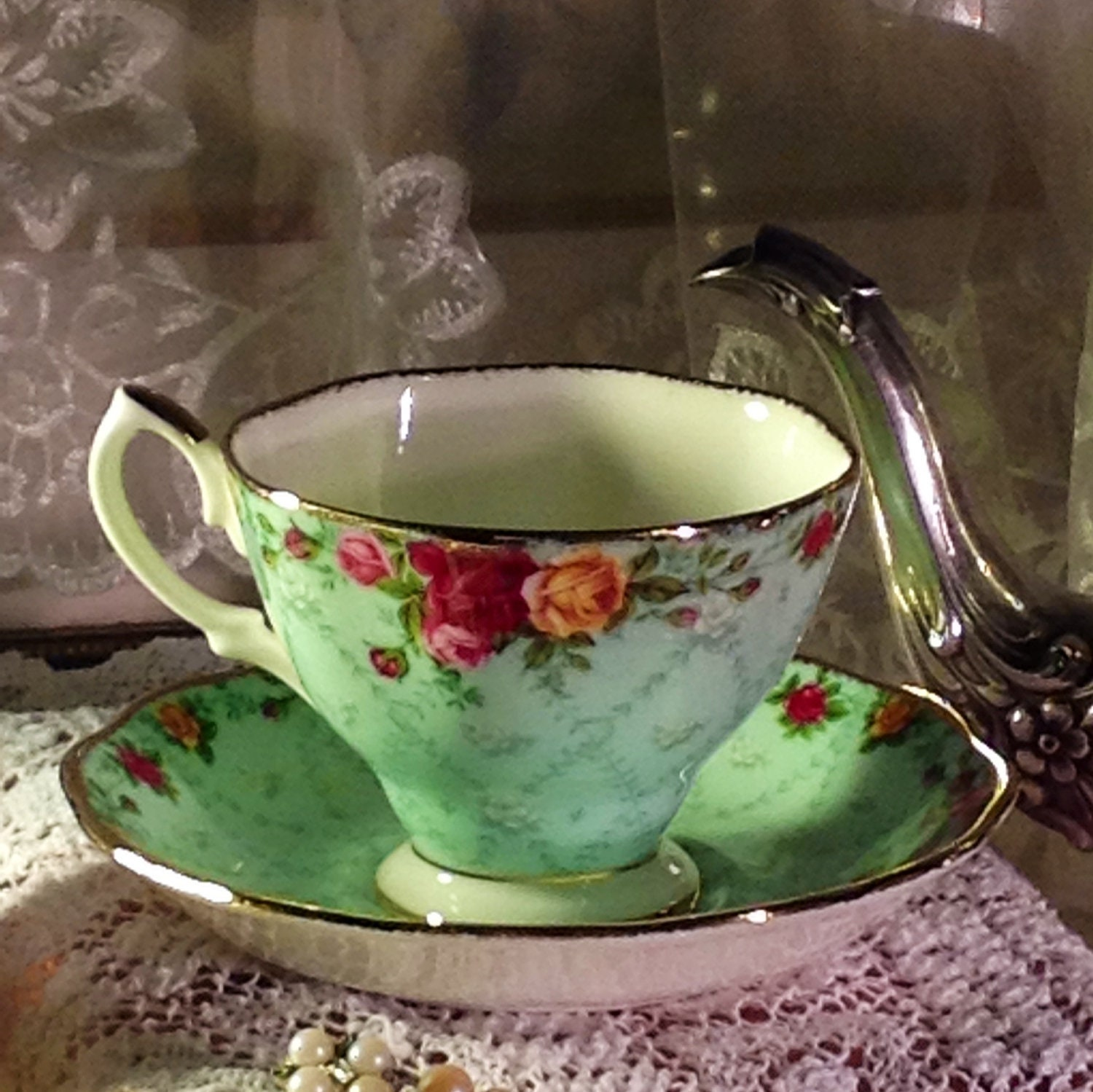 royal albert english fine bone china tea cup saucer. Black Bedroom Furniture Sets. Home Design Ideas