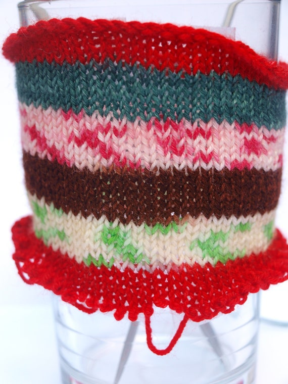 Hansel and Gretel's Gingerbread House, Phat Fiber,Self Striping, Hand Dyed Fingering/Sock Yarn