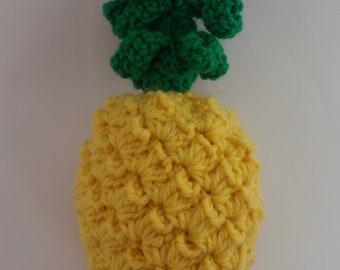 Pineapple play food   -crochet pattern-