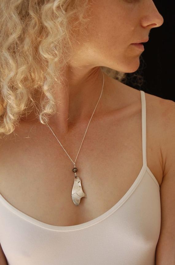 Art Jewelry Metalwork Jewelry Mixed Metal Necklace Statement Necklace Bohemian Jewelry Artisan Necklace