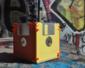Floppy Disk Pencil Holder for the Eco-Chic Nerd or Geek