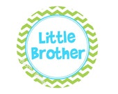 Little Brother or Big Brother Sticker...Customize with Name...or Choose Different Design