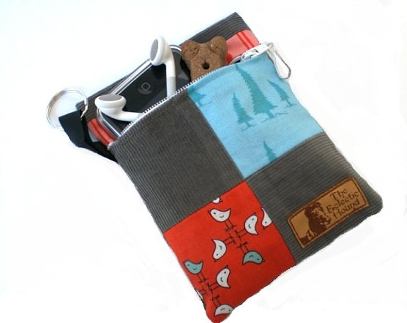 Twitter and Trees Pooch Pouch Clip-on Leash Accessory Bag