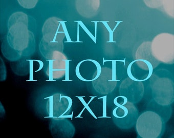 12x18 Print - ANY 12x18 Photograph Print from Seven Eleven Studios