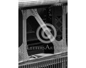 ONLY 1.99  INSTANT Letter Art - 4x6 individual photo download - printable  - digital image - alphabet, nature, architectural. Letter N - N6