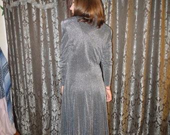 Sale      Vintage 80's Party Dress / Holiday Dress
