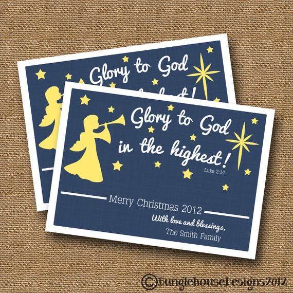 Items Similar To Religious Christmas Card