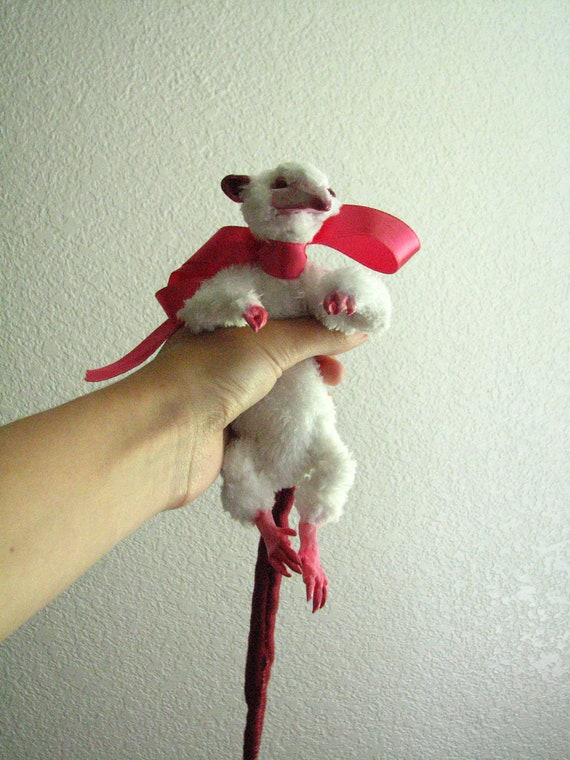 Rattus the Lab rat Doll - old work sale