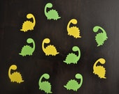 125 pieces dinosaur confetti, birthday party table decoration, pinata filler, baby shower