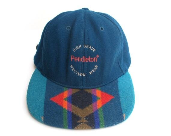 Vintage Pendleton Strap Back Cap