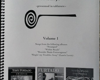 Tony Furtado Banjo Book - volume 1