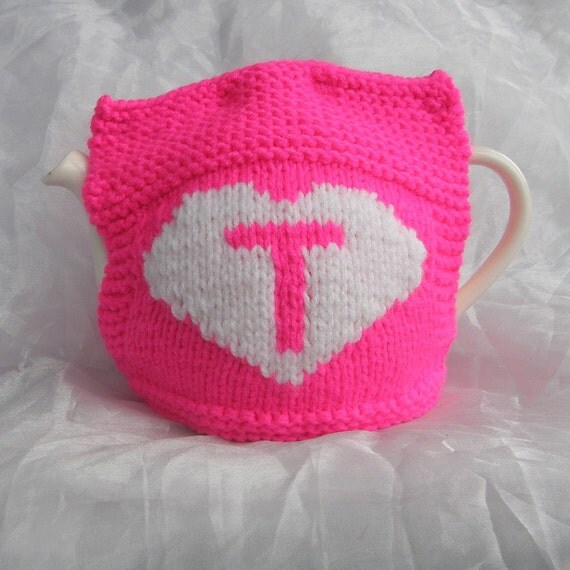 Love Tea Teapot Cosy - Bright Pink
