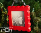 READY TO SHIP - 3x3 Playful - unfinished picture frame