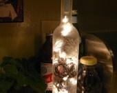 Up-Cycled Vodka Bottle Lamp