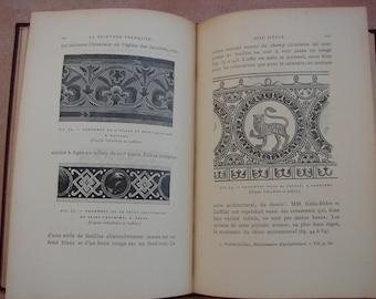 123 gravures, La Peinture Francaise, Paul Mantz du IX siecle.1897 1st.edition French book about paintings