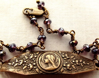 Blessed Virgin Mary Rosary Bracelet