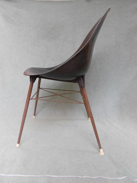 Retro Plastic SCOOP Chair,