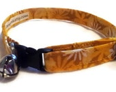 Cat Collar Sunshiny Yellow Orange - CollarTopia