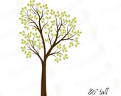 """Tree Wall Decal Nursery Sticker Large Decals Removable Vinyl Stickers Baby Kids Room Bedroom Living room Mural Home Decor Nature DIY 80"""""""