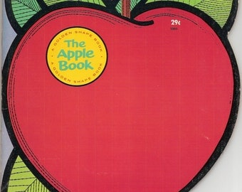 The Apple Book Vintage Golden Shape Book Illustrated by Dick Martin 1964 First Edition