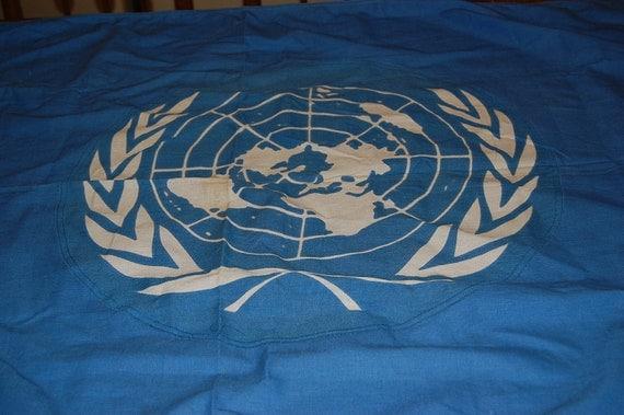 Vintage United Nations Flag Defiance Flag Co NJ 3x5