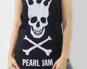 PEARL JAM American Rock Band Alternative Rock Hard Rock Music Shirt Tank Top Women Tunic Tops Vest Sleeveless Singlet Rock T-Shirt Size S M