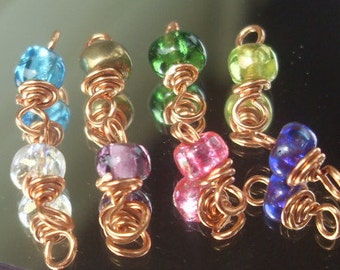 Accent Seed Bead dangles