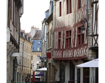 Dijon Cafe France 2 Photo Print