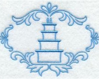 Wedding Cake --  Wedding Accent Designs  ---   SMALL