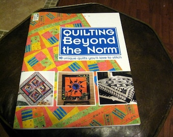 Quilting Beyond the Norm // Improv Piecing // Modern Quilting // Quilt Book