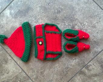 Baby Elf/ Santa Set PDF pattern